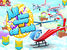 Airplane Clean-Up and Car Wash