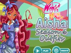 Aisha Season 6 Outfits
