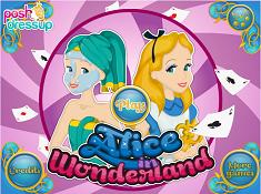 Alice in Wonderland Facial Treatment