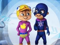 Alvin Superhero Training