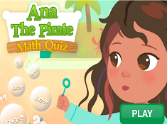 Ana The Pirate Math Quiz