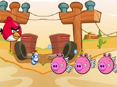 Angry Birds Shooting