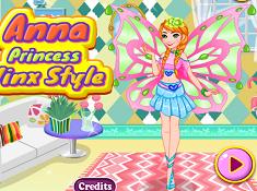 Anna Princess Winx Style