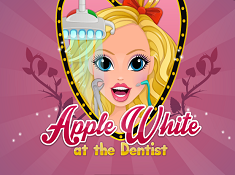 Apple White At the Dentist