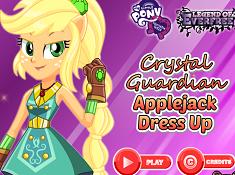 Applejack Crystal Guardian