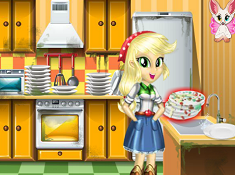 Applejack Great Cleaning