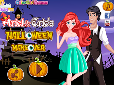 Ariel and Erics Halloween Makeover