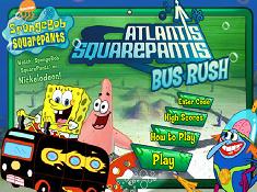 Atlantis Squarepants Bus Rush