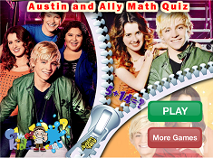 Austin and Ally Math Quiz
