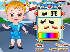 Baby Hazel Air Hostess Dress Up