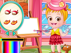 Baby Hazel Artist Dress Up