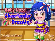 Baby Hazel Cheerleader Dress-up