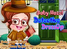 Baby Hazel Detective Dressup