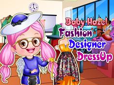 Baby Hazel Fashion Designer Dress Up