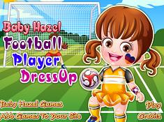Baby Hazel Football Player Dress Up