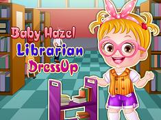 Baby Hazel Librarian Dress-Up