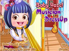 Baby Hazel Musician Dress Up