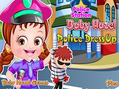 Baby Hazel Police Dress Up
