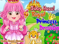 Baby Hazel Royal Princess Dress Up