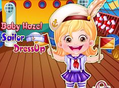 Baby Hazel Sailor Dress-Up