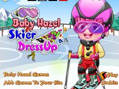 Baby Hazel Skier Dress Up