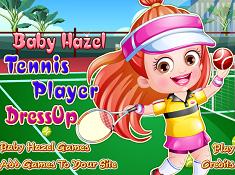 Baby Hazel Tennis Player Dress-Up