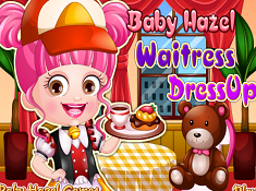 Baby Hazel Waitress