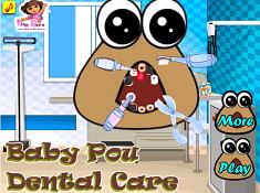 Baby Pou Dental Care