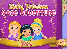 Baby Princesses Maze Adventure
