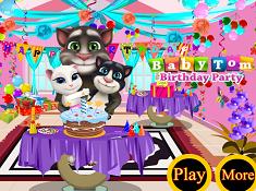 Baby Tom Birthday Party