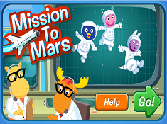 Backyardigans on Mars