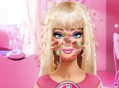 Barbie Face Care and Dress Up