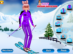 Barbie Goes Snowboarding