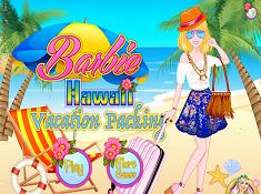 Barbie Hawaii Vacation Packing