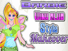 Barbie Winx Club Style Makeover