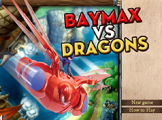 Baymax Vs Dragons