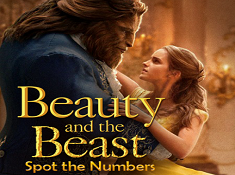 Beauty and the Beast Spot the Numbers