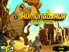 Ben 10 Humungousaur Giant Force