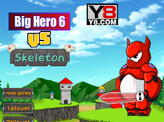 Big Hero 6 vs Skeleton