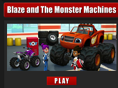 Blaze and the Monster Machines Memory Cards