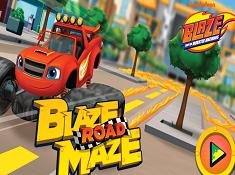 Blaze Road Maze