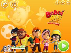 Boboiboy Coloring