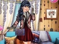 Boho Winter with Princesses