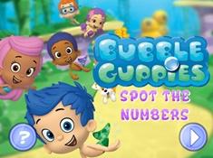 Bubble Guppies Hidden Numbers