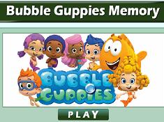 Bubble Guppies Memory
