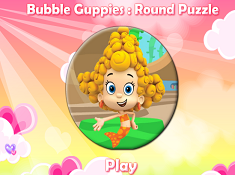 Bubble Guppies Round Puzzle