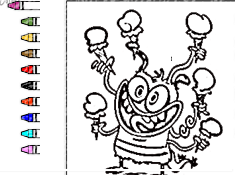 Bunsen is a Beast Coloring