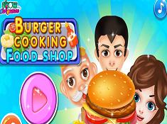 Burger Cooking Food Shop