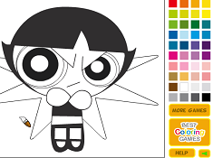 Buttercup Coloring