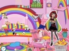 Cerise Hood Rainbow Room Cleaning
